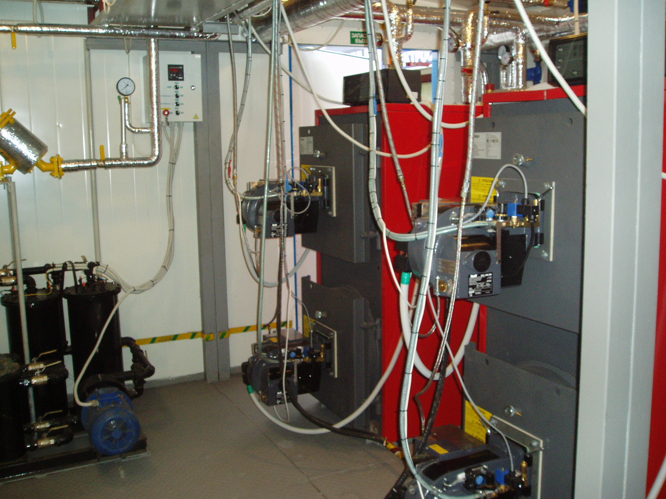 пусконаладка газовой котельной модульной